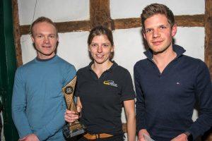 Sportler des Jahres bei Marathon Ibbenbüren (v.l.): Kai Schrameyer (Platz 2), Kerstin Biekötter (Platz 1) und Stefan Remme (Platz 3).